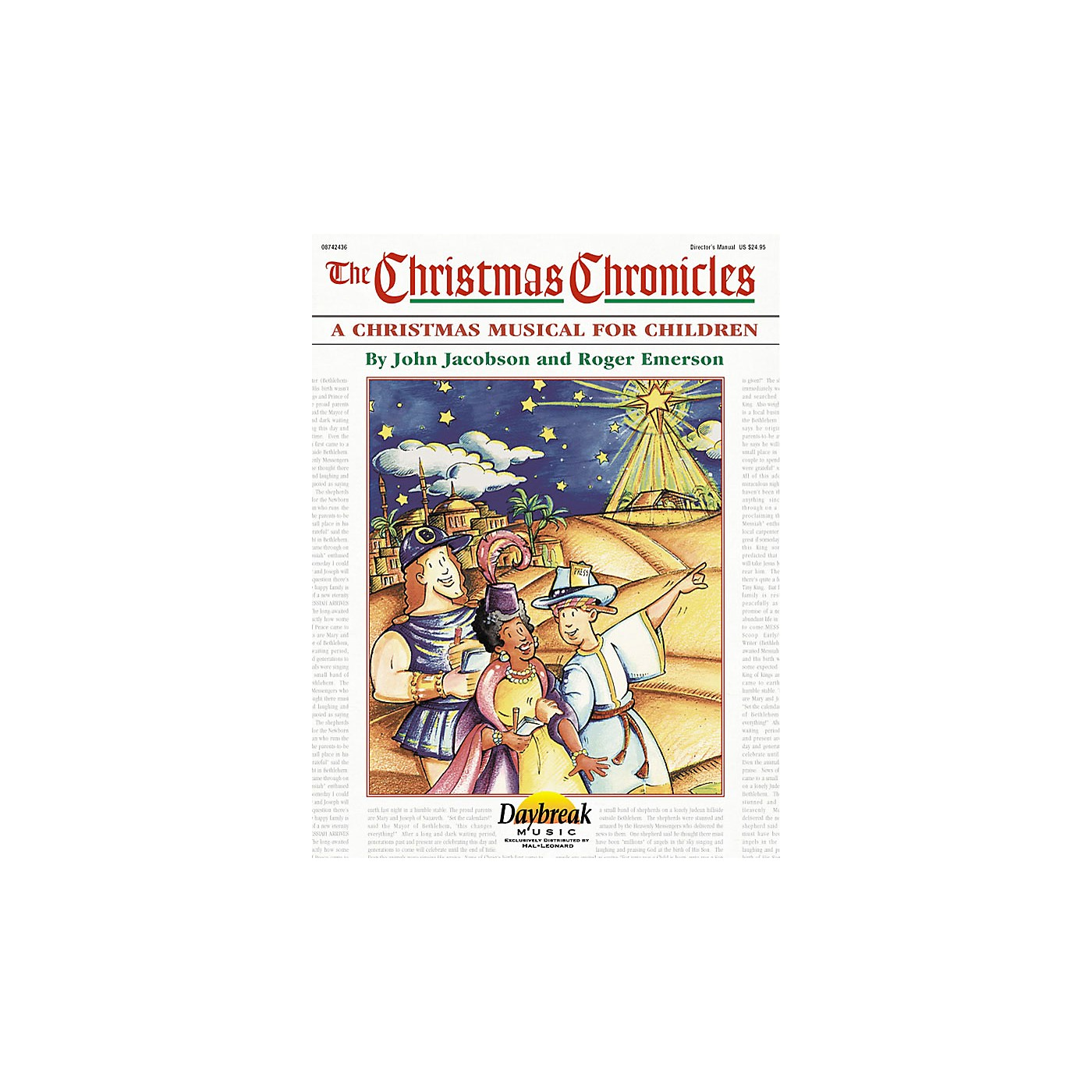 Daybreak Music The Christmas Chronicles (A Sacred Musical for Children) DIRECTOR MAN composed by Roger Emerson thumbnail