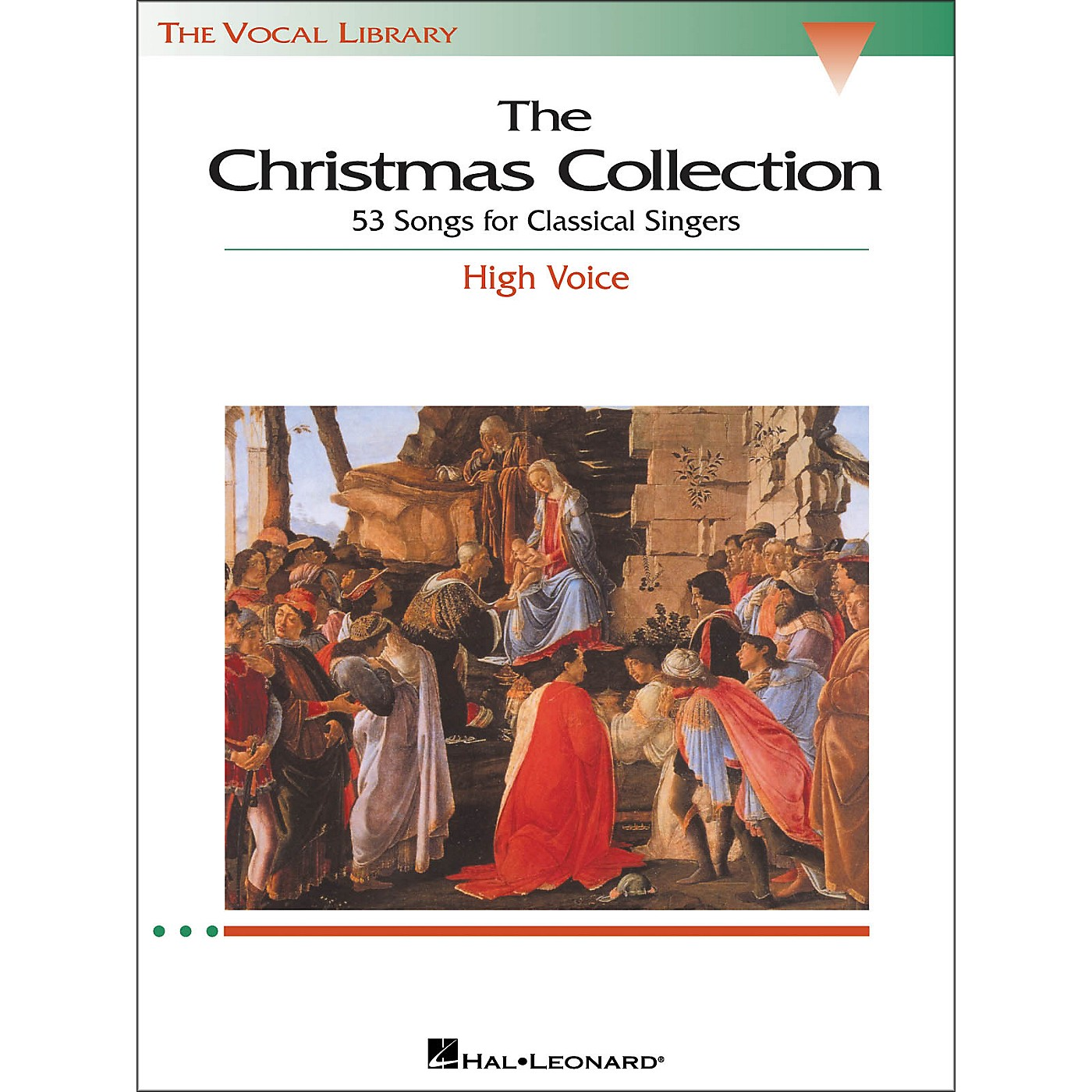 Hal Leonard The Christmas Collection for High Voice (The Vocal Library Series) thumbnail