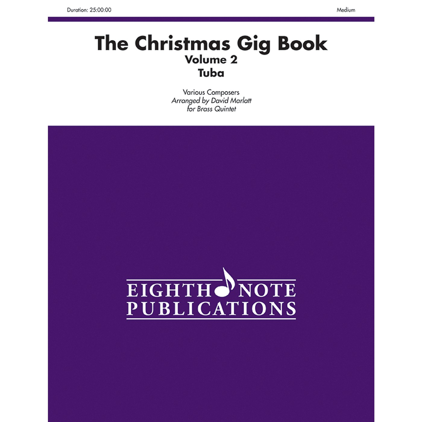 Alfred The Christmas Gig Book Volume 2 Brass Quintet Tuba thumbnail