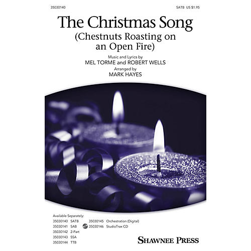 Shawnee Press The Christmas Song (Chestnuts Roasting on an Open Fire) Studiotrax CD Arranged by Mark Hayes thumbnail