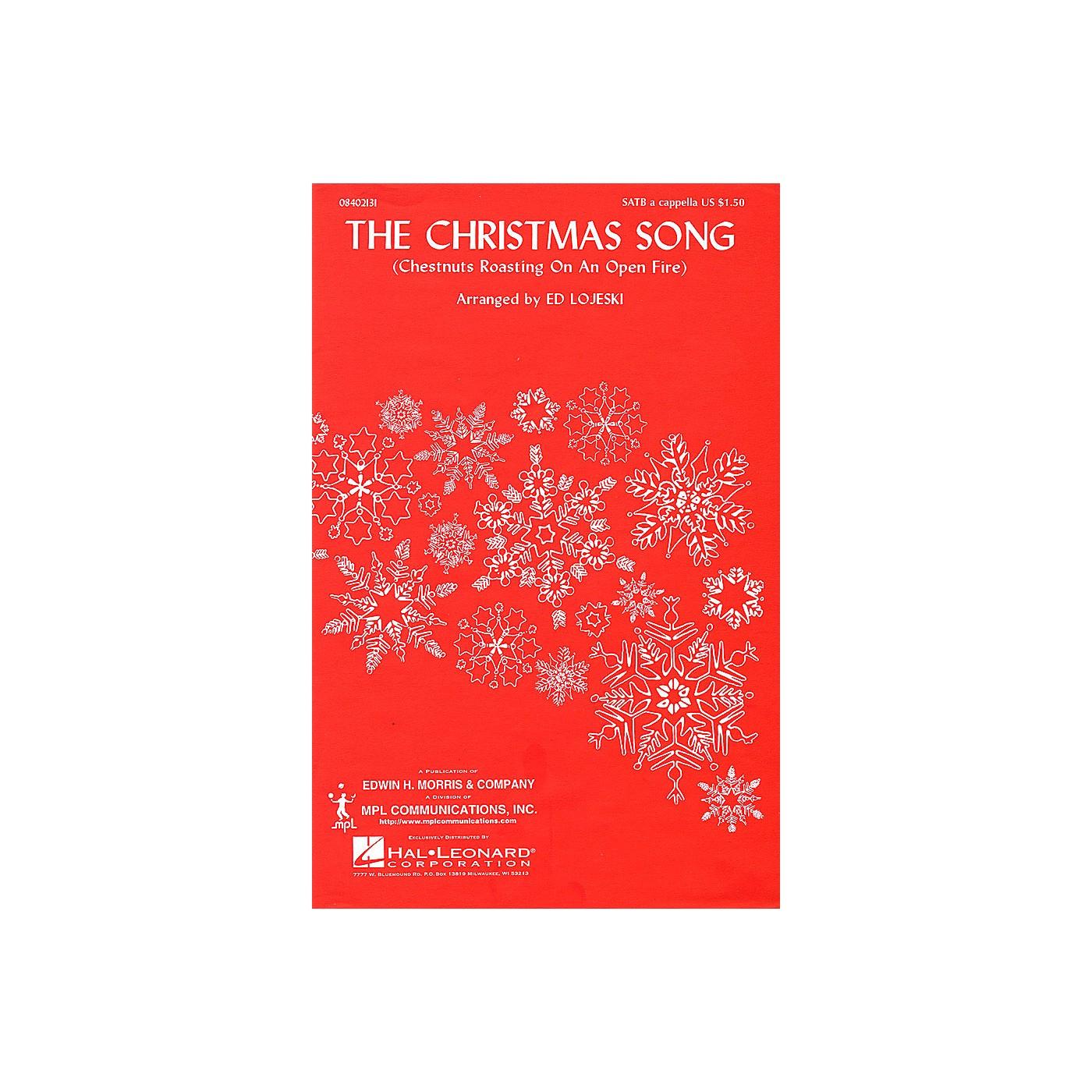 Hal Leonard The Christmas Song (SATB a cappella) SATB arranged by Ed Lojeski thumbnail