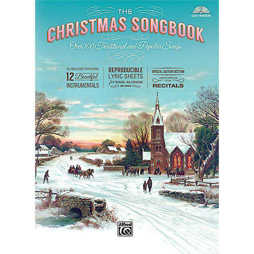 Alfred The Christmas Songbook (Hardcover with Enhanced CD) thumbnail