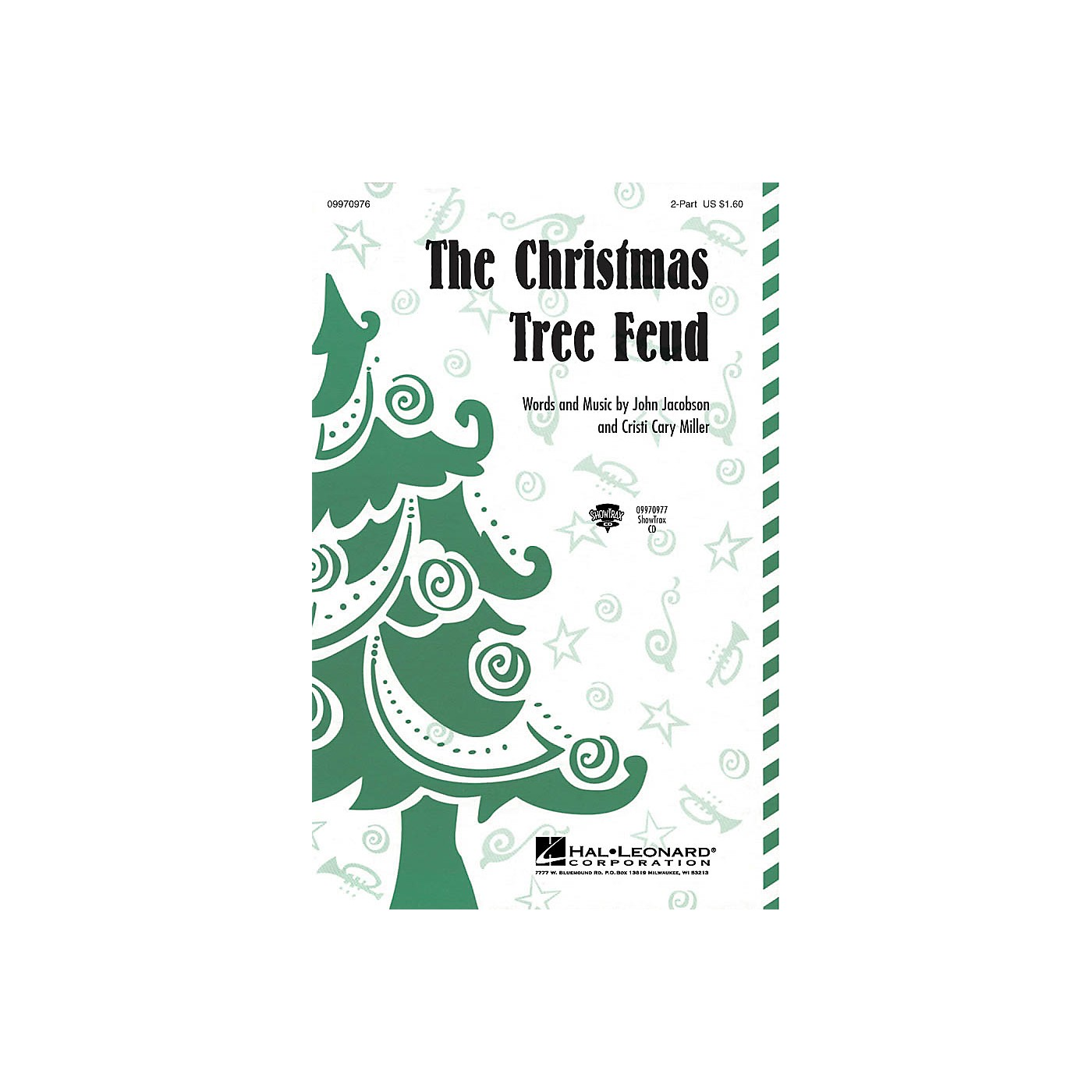 Hal Leonard The Christmas Tree Feud 2-Part Composed by John Jacobson, Cristi Cary Miller thumbnail