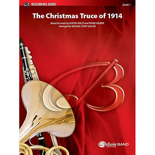 Alfred The Christmas Truce of 1914 Concert Band Grade 1 Set thumbnail