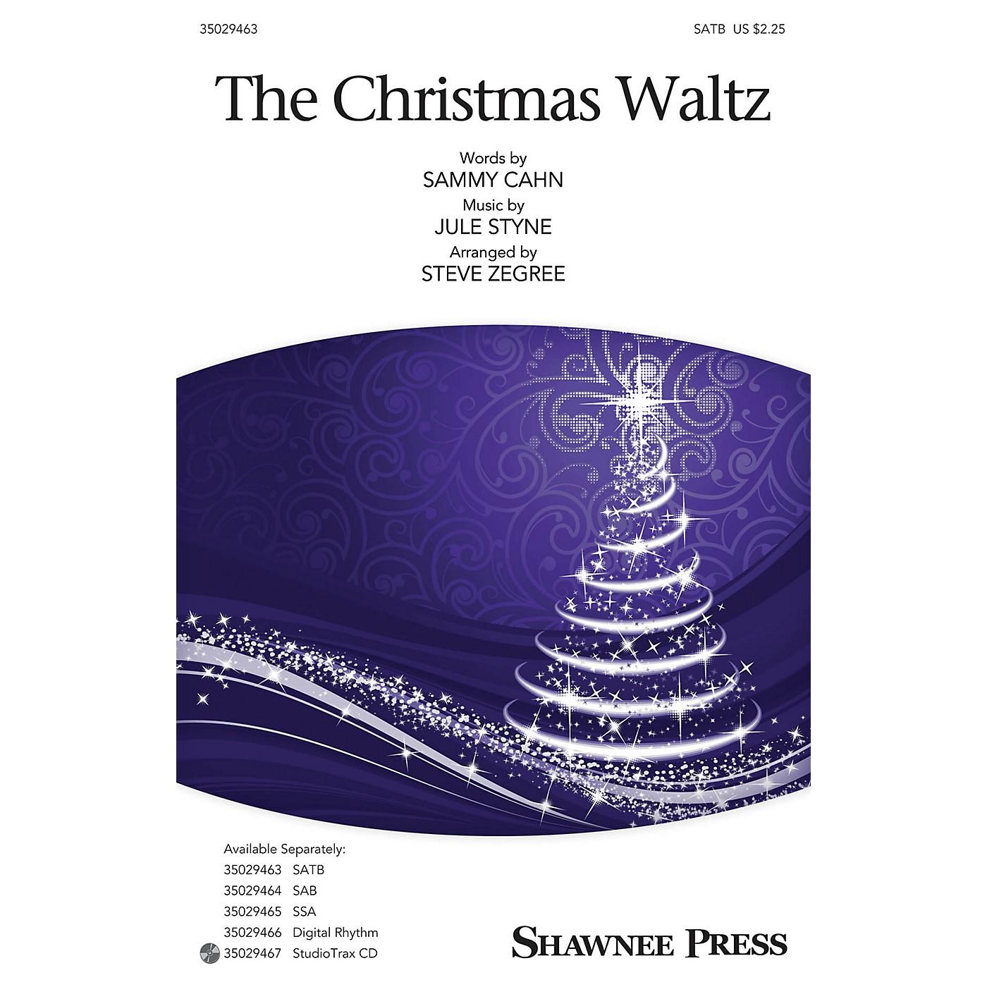 Shawnee Press The Christmas Waltz SATB arranged by Steve Zegree thumbnail
