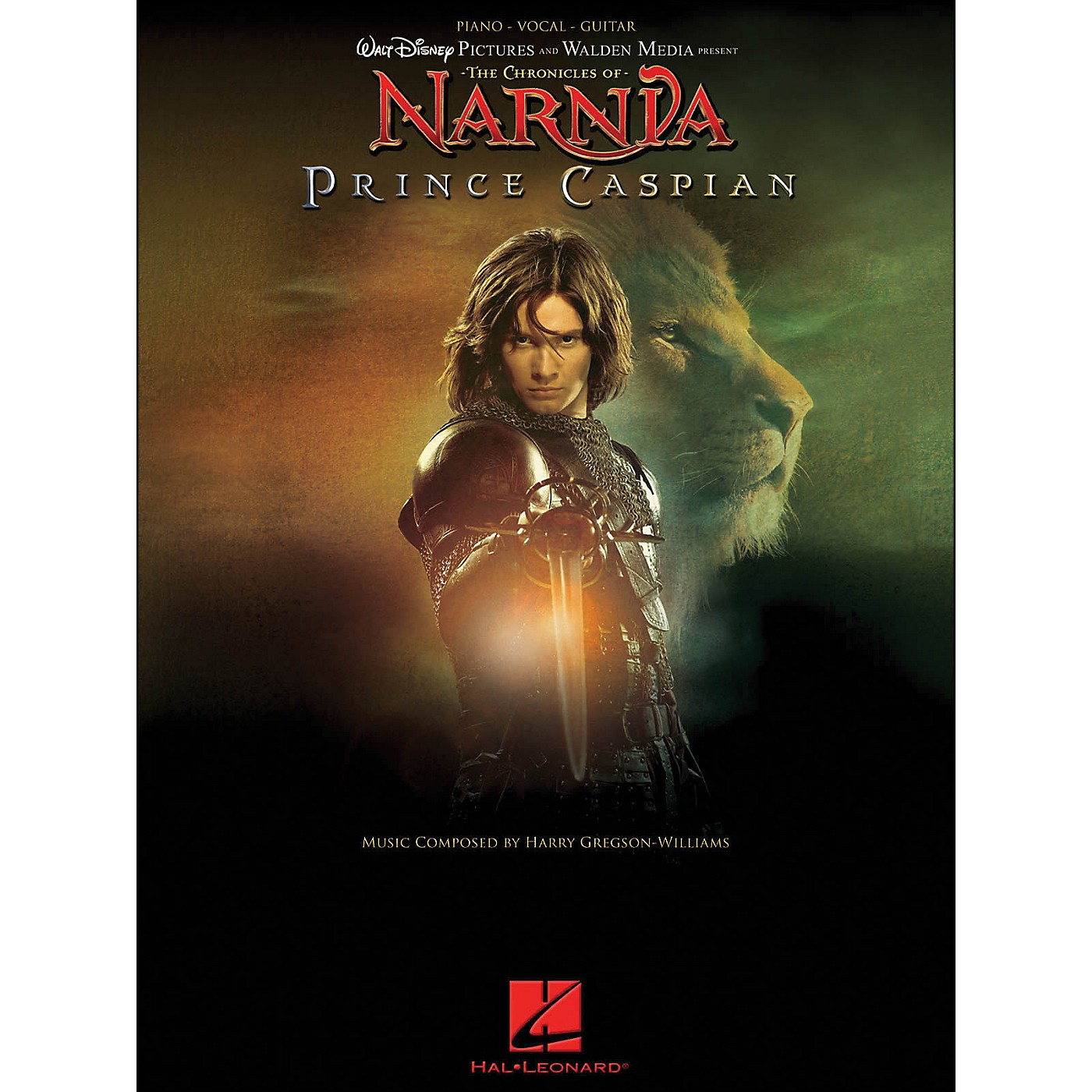Hal Leonard The Chronicles Of Narnia - Prince Caspian arranged for piano, vocal, and guitar (P/V/G) thumbnail