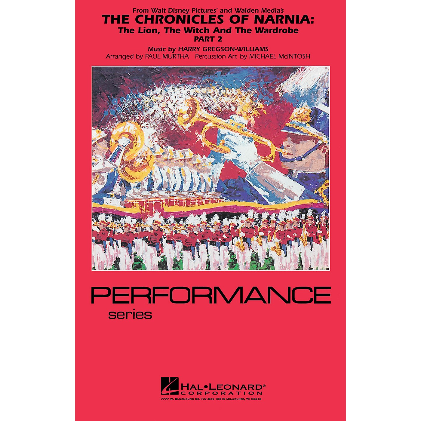 Hal Leonard The Chronicles of Narnia - Part 2 Marching Band Level 4 Arranged by Paul Murtha/Michael McIntosh thumbnail