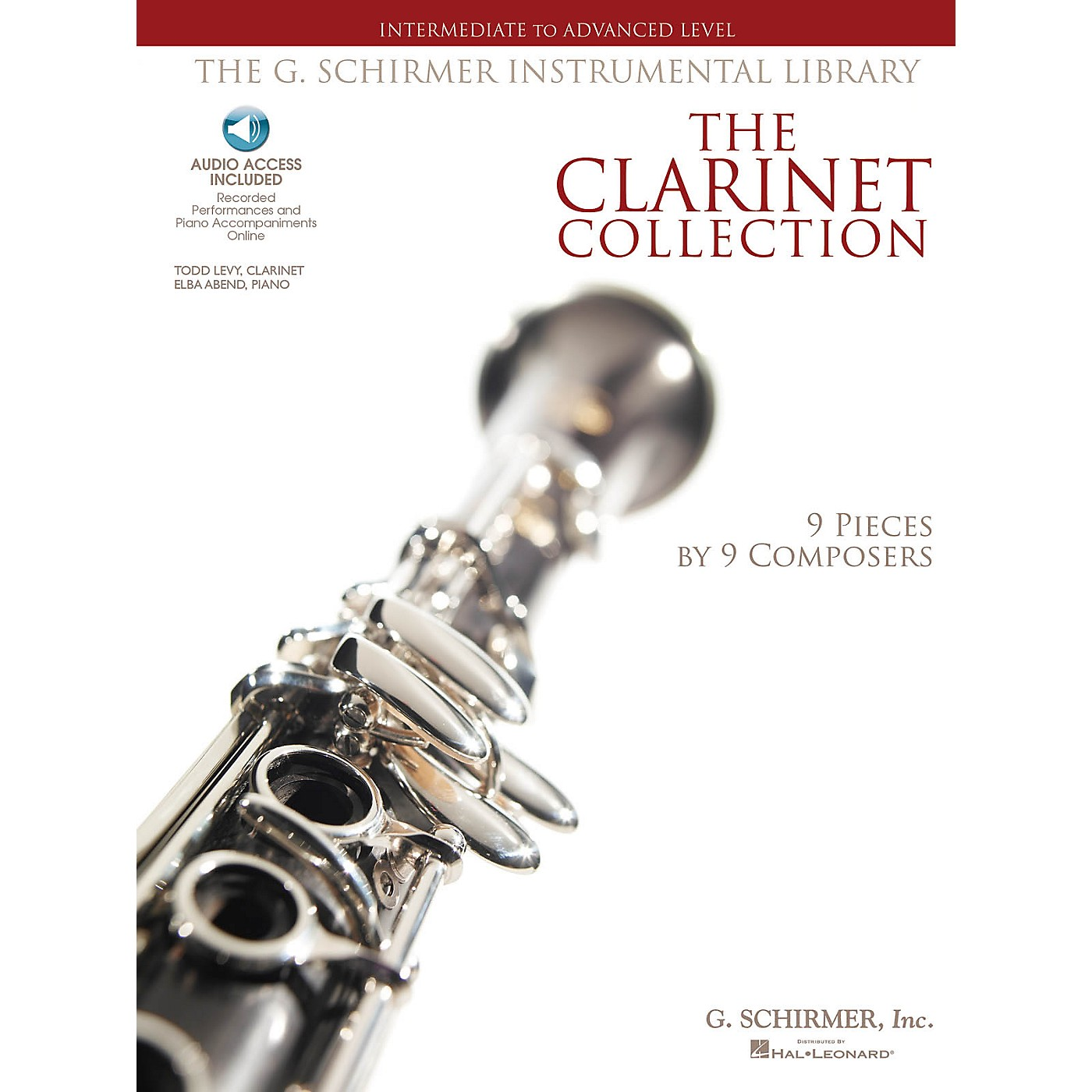 G. Schirmer The Clarinet Collection Woodwind Solo Series Softcover Audio Online thumbnail
