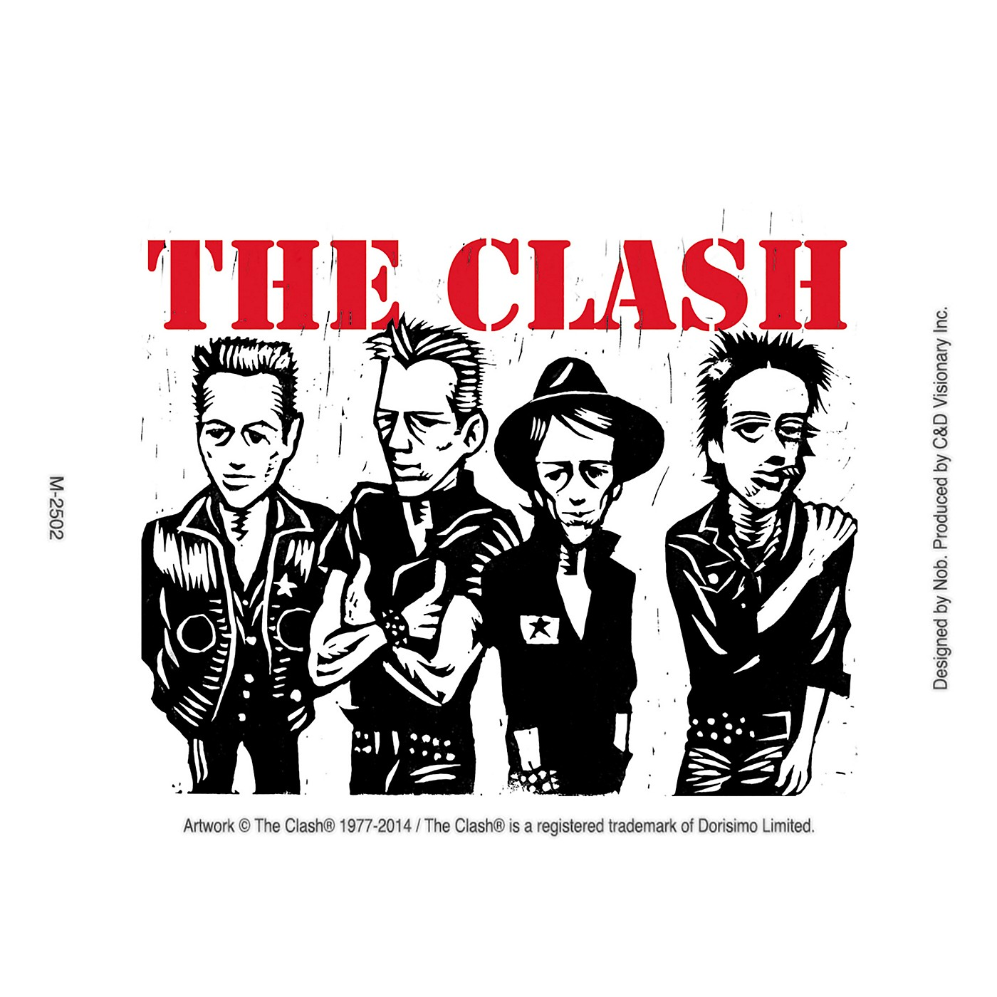 C&D Visionary The  Clash Magnet thumbnail