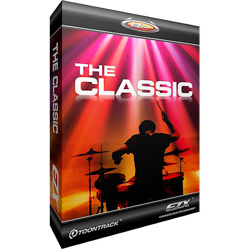 Toontrack The Classic EZX Software Download thumbnail