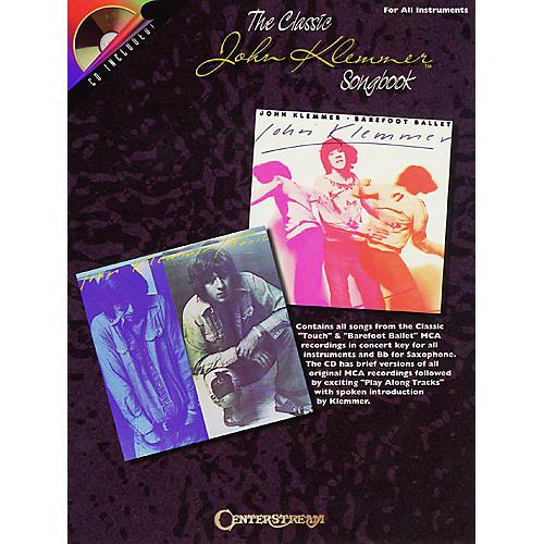 Centerstream Publishing The Classic John Klemmer Songbook Instrumental Folio Series Book with CD Performed by John Klemmer thumbnail