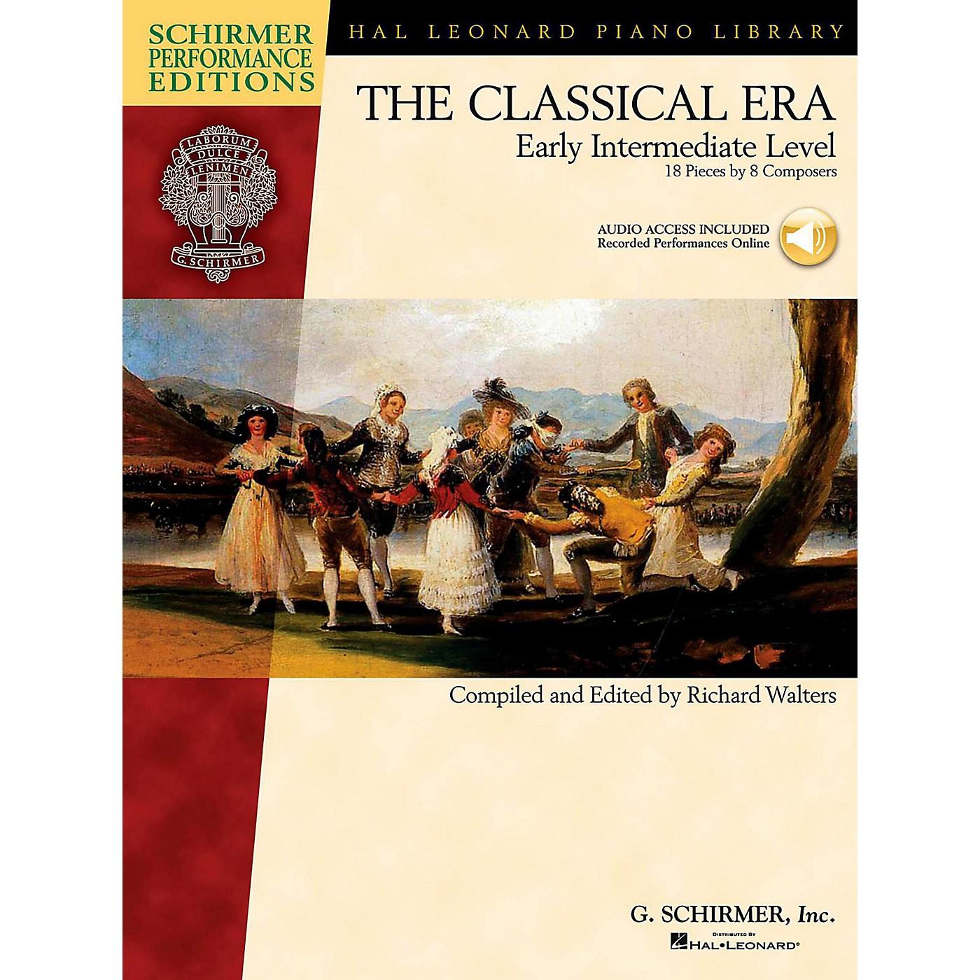 G. Schirmer The Classical Era - Early Intermediate Level Schirmer Performance Editions Book Online Audio Access thumbnail