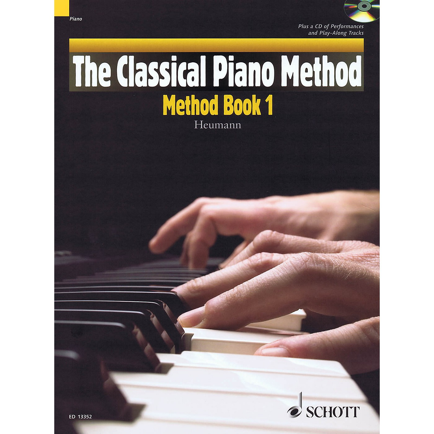 Hal Leonard The Classical Piano Method - Method Book 1 Book/CD thumbnail