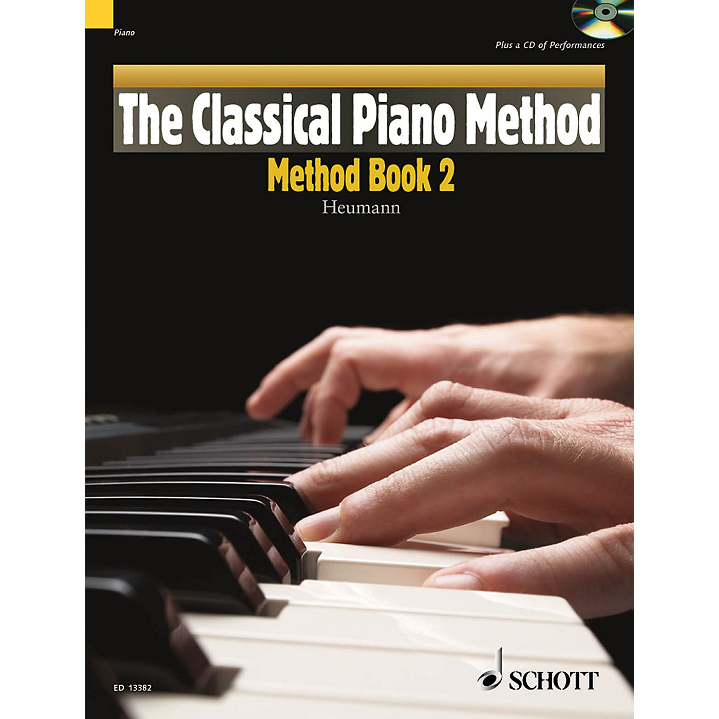 Schott The Classical Piano Method - Method Book 2 Schott Series Softcover with CD thumbnail