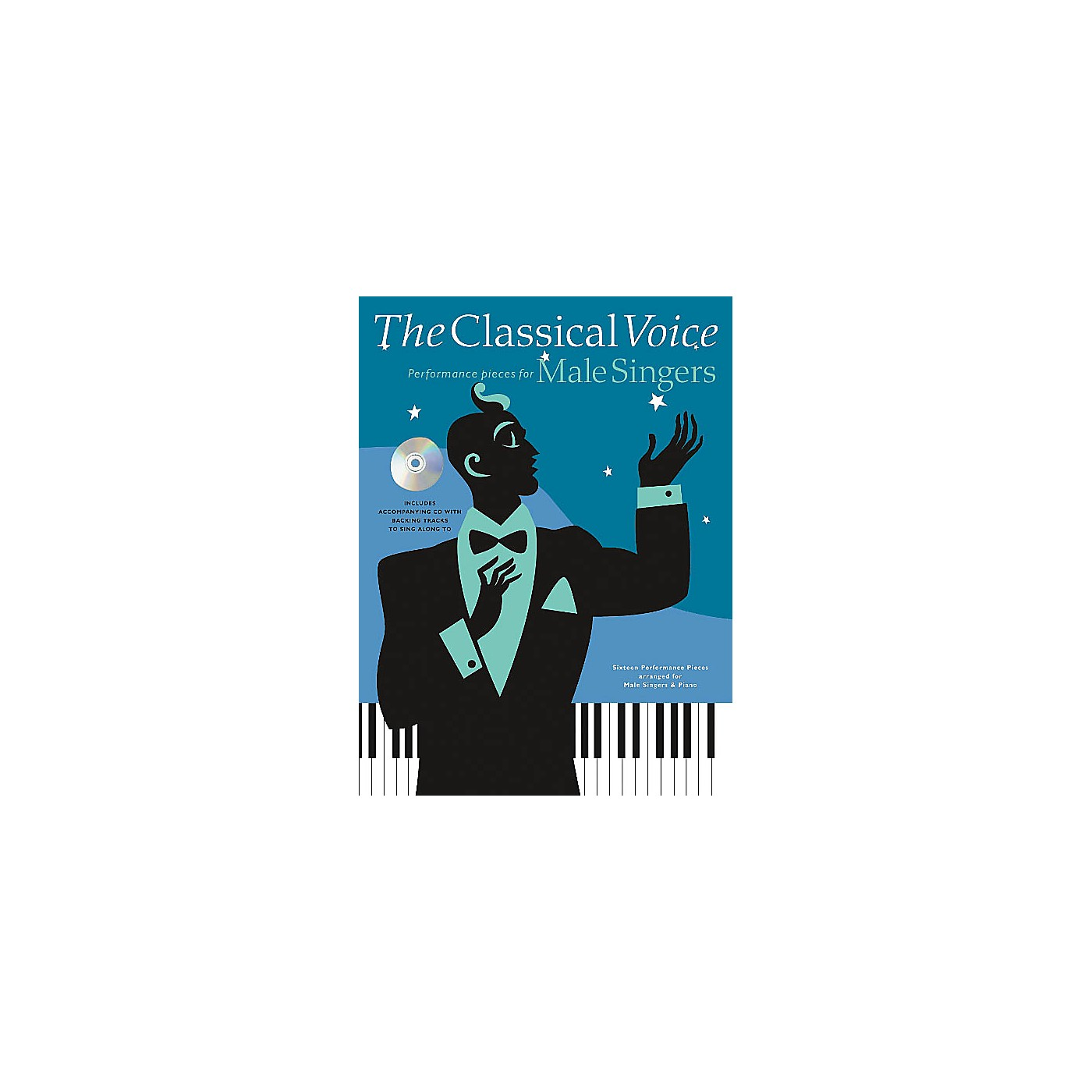 Music Sales The Classical Voice: Performance Pieces for Male Singers Music Sales America Softcover with CD by Various thumbnail