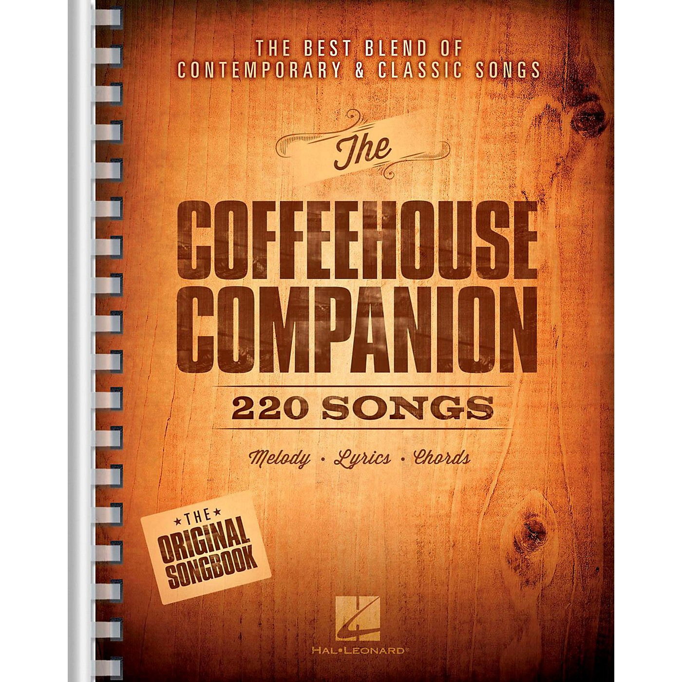 Hal Leonard The Coffeehouse Companion - The Best Blend of Contemporary & Classic Songs thumbnail