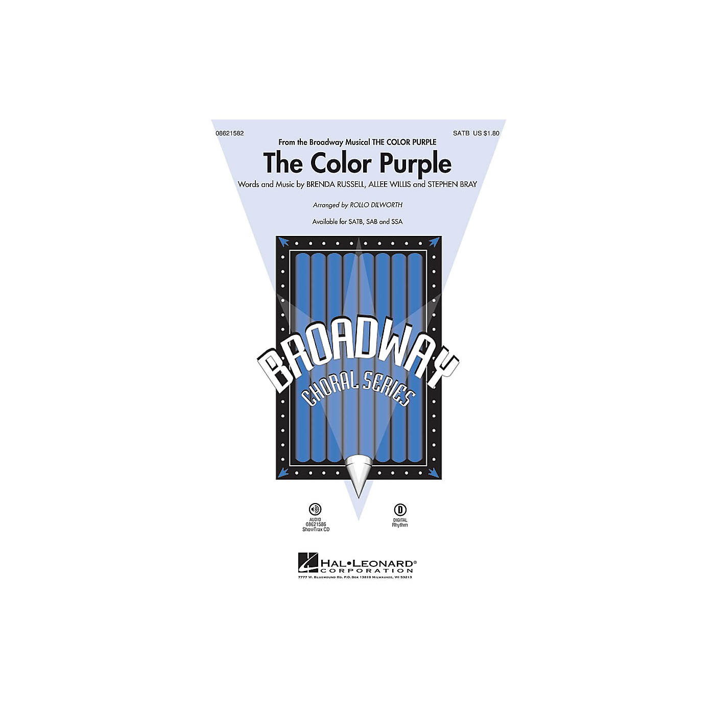 Hal Leonard The Color Purple (from The Color Purple) SAB Arranged by Rollo Dilworth thumbnail