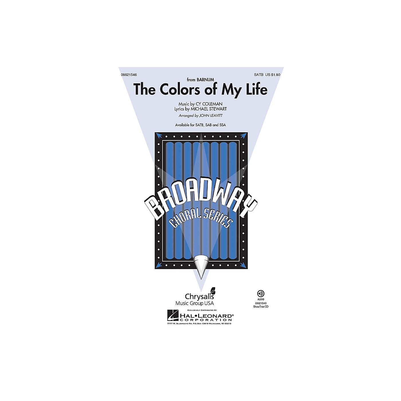 Hal Leonard The Colors of My Life (from Barnum) ShowTrax CD Arranged by John Leavitt thumbnail