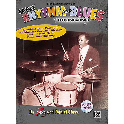 Alfred The Commandments of Early Rhythm and Blues Drumming - Book and CD thumbnail