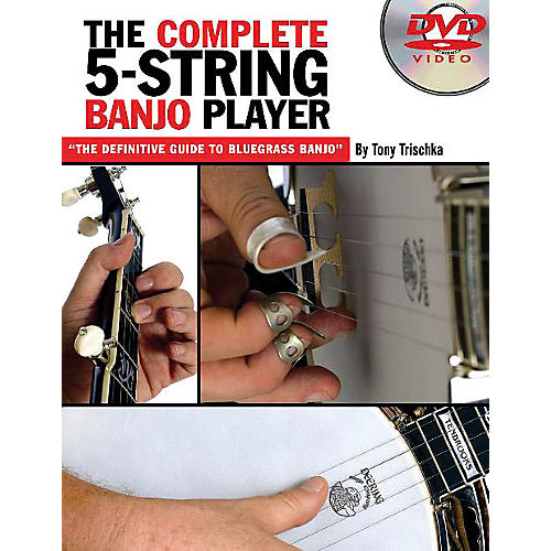 Music Sales The Complete 5-String Banjo Player Music Sales America Series DVD Written by Tony Trischka thumbnail