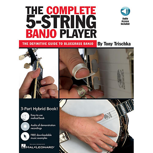 Music Sales The Complete 5-String Banjo Player Music Sales America Series Softcover with CD by Tony Trischka thumbnail