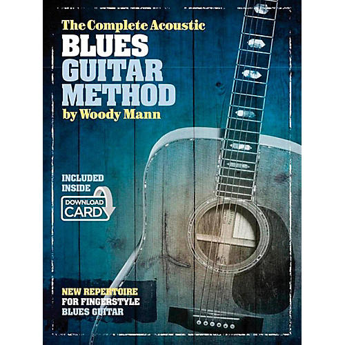 Music Sales The Complete Acoustic Blues Guitar Method - Book/Online Audio thumbnail