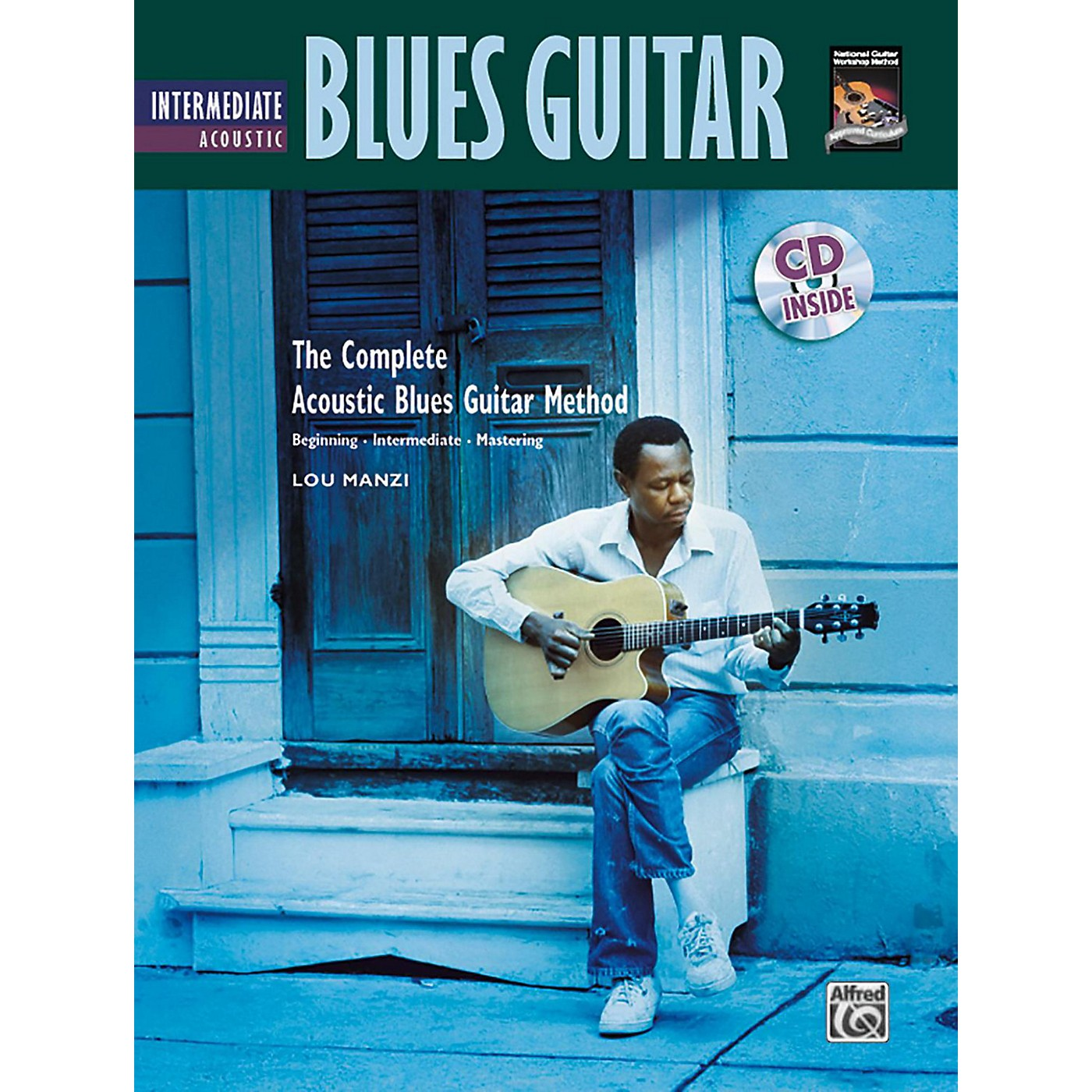 Alfred The Complete Acoustic Blues Method: Intermediate Acoustic Blues Guitar Book & CD thumbnail