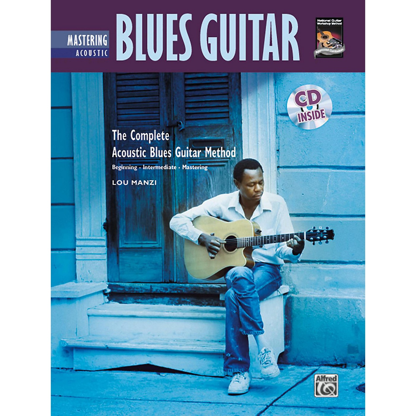 Alfred The Complete Acoustic Blues Method: Mastering Acoustic Blues Guitar Book & CD thumbnail