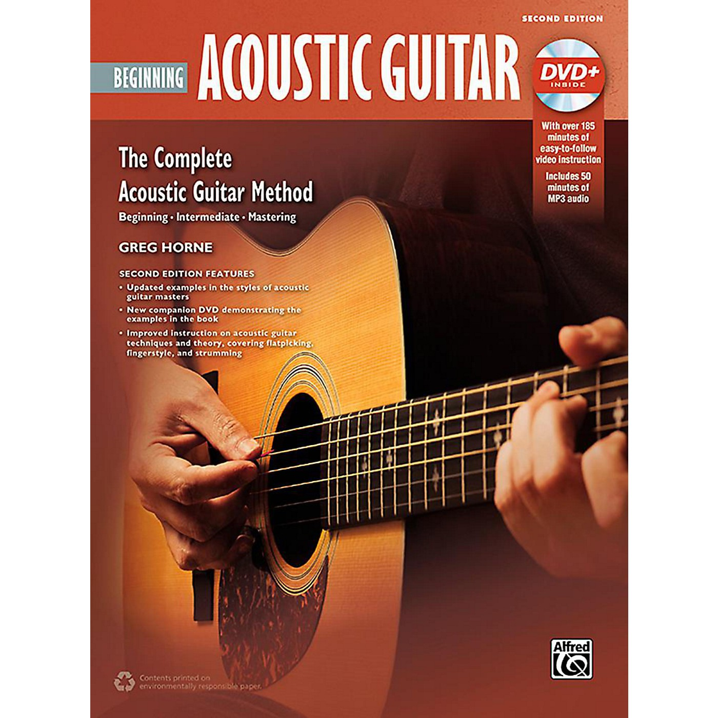 Alfred The Complete Acoustic Guitar Method: Beginning Acoustic Guitar (2nd Edition) - Book & DVD thumbnail