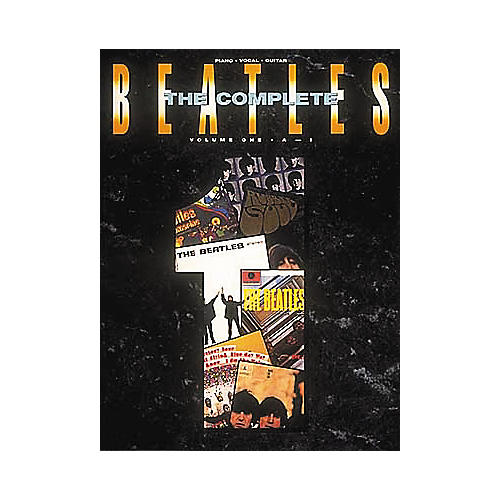 Hal Leonard The Complete Beatles Volume 1 Piano, Vocal, Guitar Songbook-thumbnail