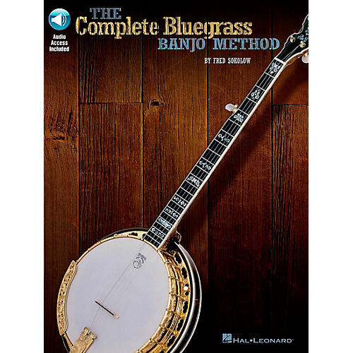 Hal Leonard The Complete Bluegrass Banjo Method (Book/CD)-thumbnail