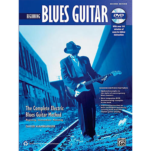 Alfred The Complete Blues Guitar Method: Beginning Blues Guitar (2nd Edition) thumbnail