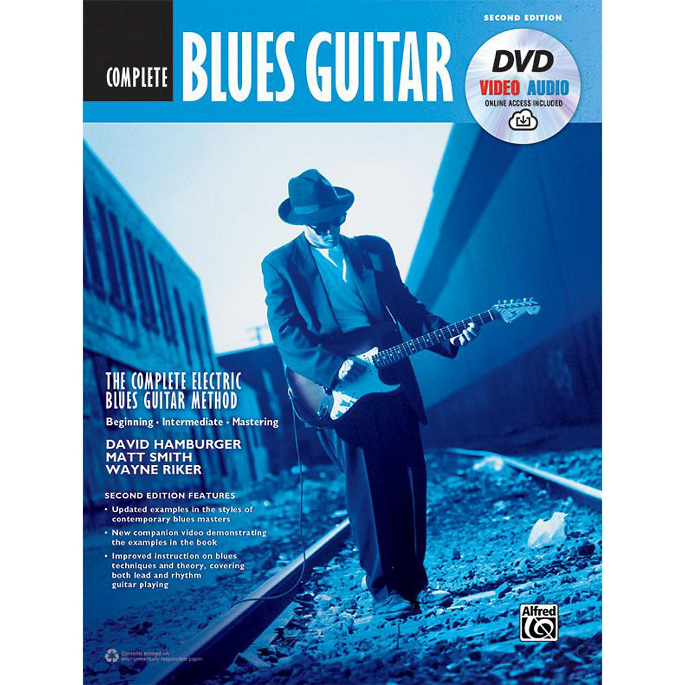 Alfred The Complete Blues Guitar Method: Complete Edition (Second Edition) - Book, DVD & Online Audio & Video thumbnail