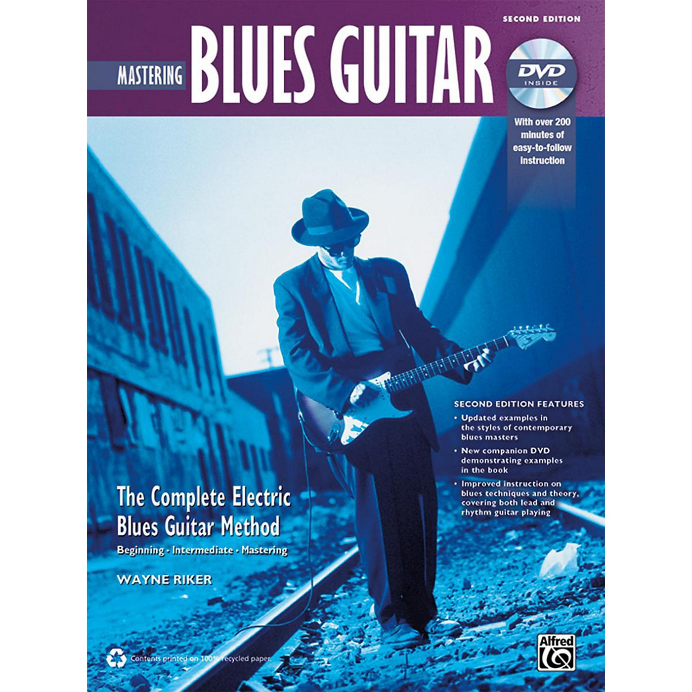 Alfred The Complete Blues Guitar Method: Mastering Blues Guitar Book & DVD (2nd Edition) thumbnail