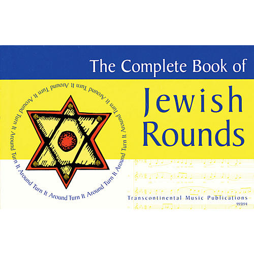 Transcontinental Music The Complete Book of Jewish Rounds (Turn It Around) Transcontinental Music Folios Series thumbnail