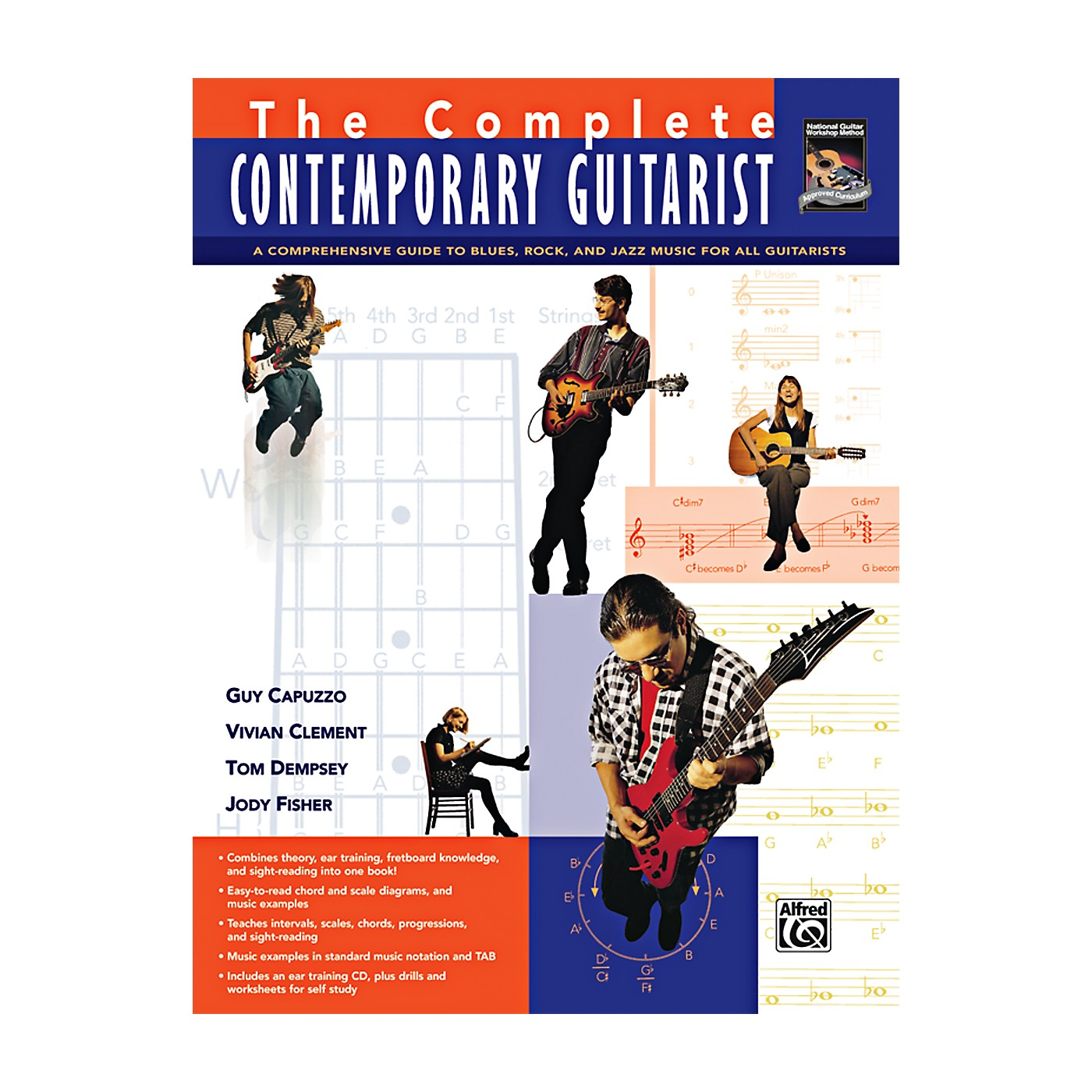 Alfred The Complete Contemporary Guitarist Book & CD thumbnail