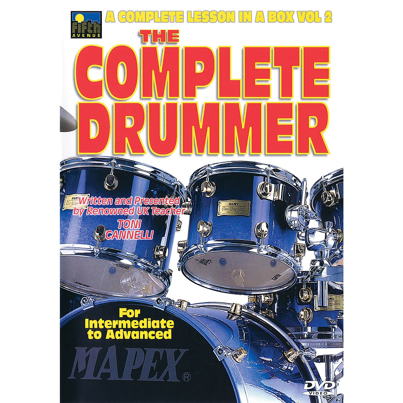Music Sales The Complete Drummer Music Sales America Series DVD Written by Toni Cannelli thumbnail