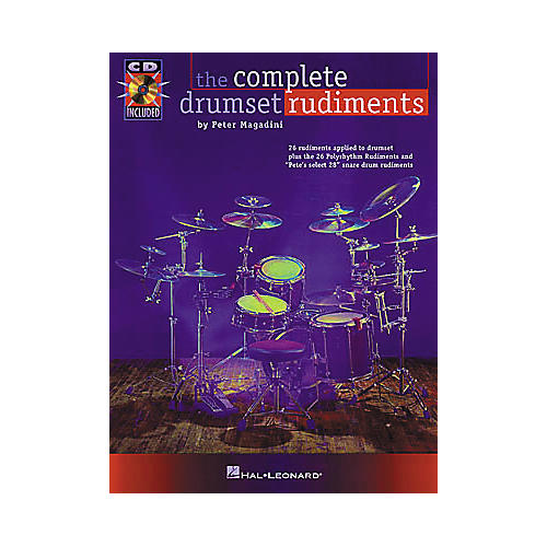 Hal Leonard The Complete Drumset Rudiments Book/CD Package thumbnail