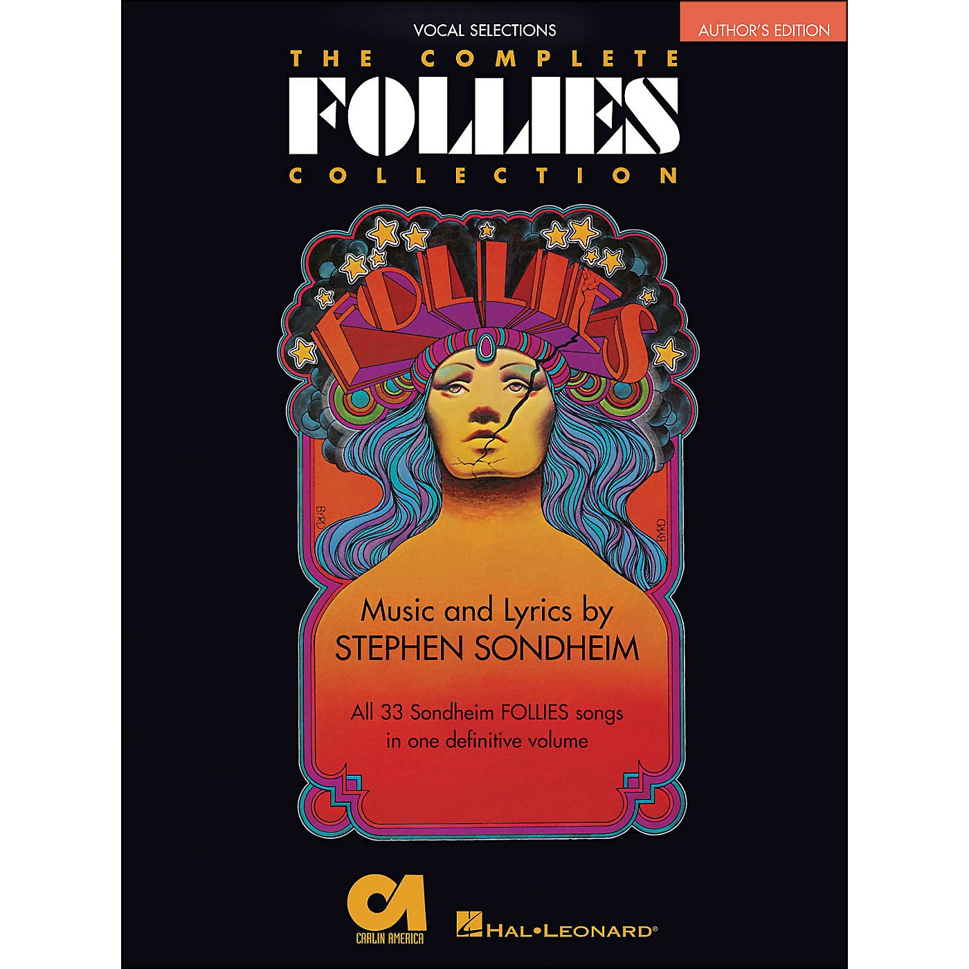 Hal Leonard The Complete Follies Collection Vocal Selections Authors Edition arranged for piano, vocal, and guitar (P/V/G) thumbnail