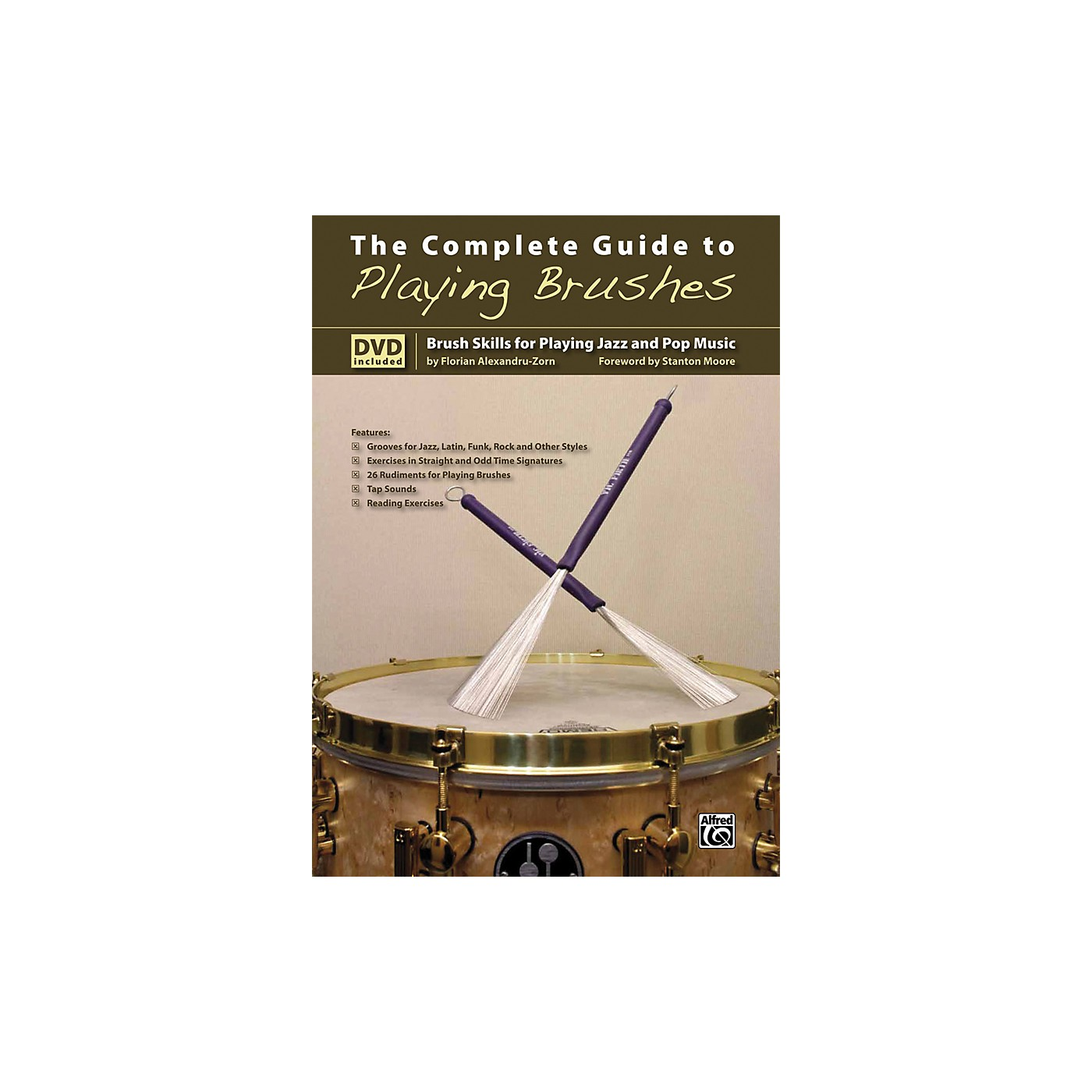 Alfred The Complete Guide to Playing Brushes Book & DVD thumbnail