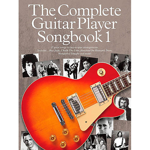 Music Sales The Complete Guitar Player - Songbook 1 thumbnail