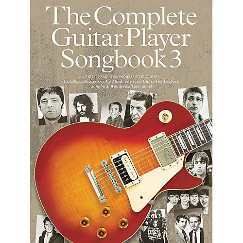 Music Sales The Complete Guitar Player - Songbook 3 Guitar Series Softcover thumbnail