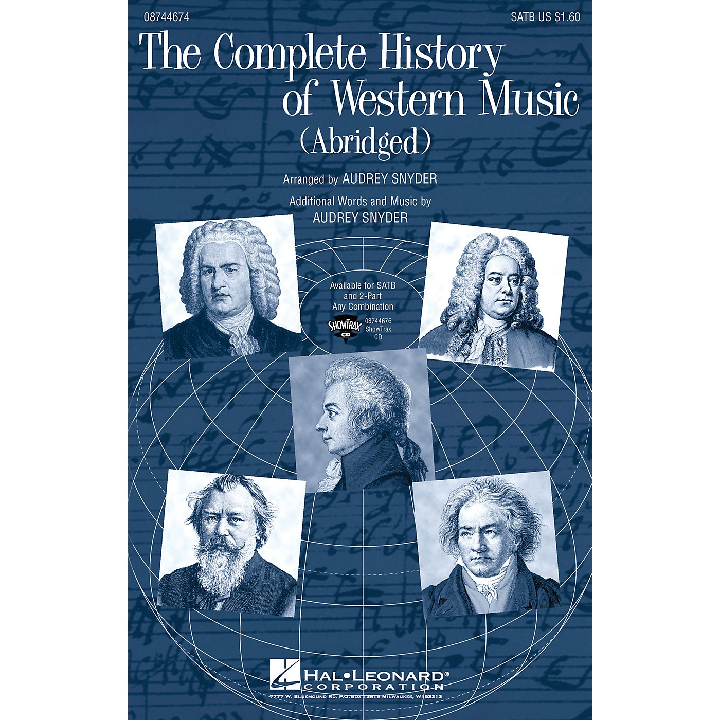 Hal Leonard The Complete History of Western Music (Abridged) ShowTrax CD Arranged by Audrey Snyder thumbnail