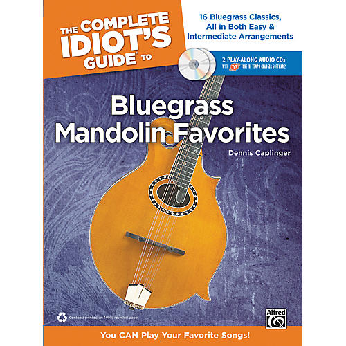 Alfred The Complete Idiot's Guide to Bluegrass Mandolin Favorites Book & 2 CDs thumbnail
