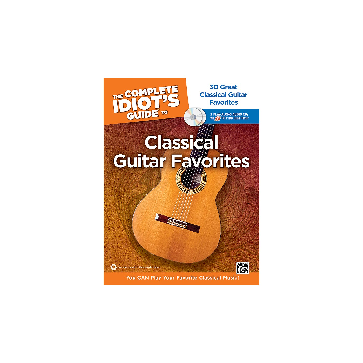 Alfred The Complete Idiot's Guide to Classical Guitar Favorites Book/2 CDs thumbnail