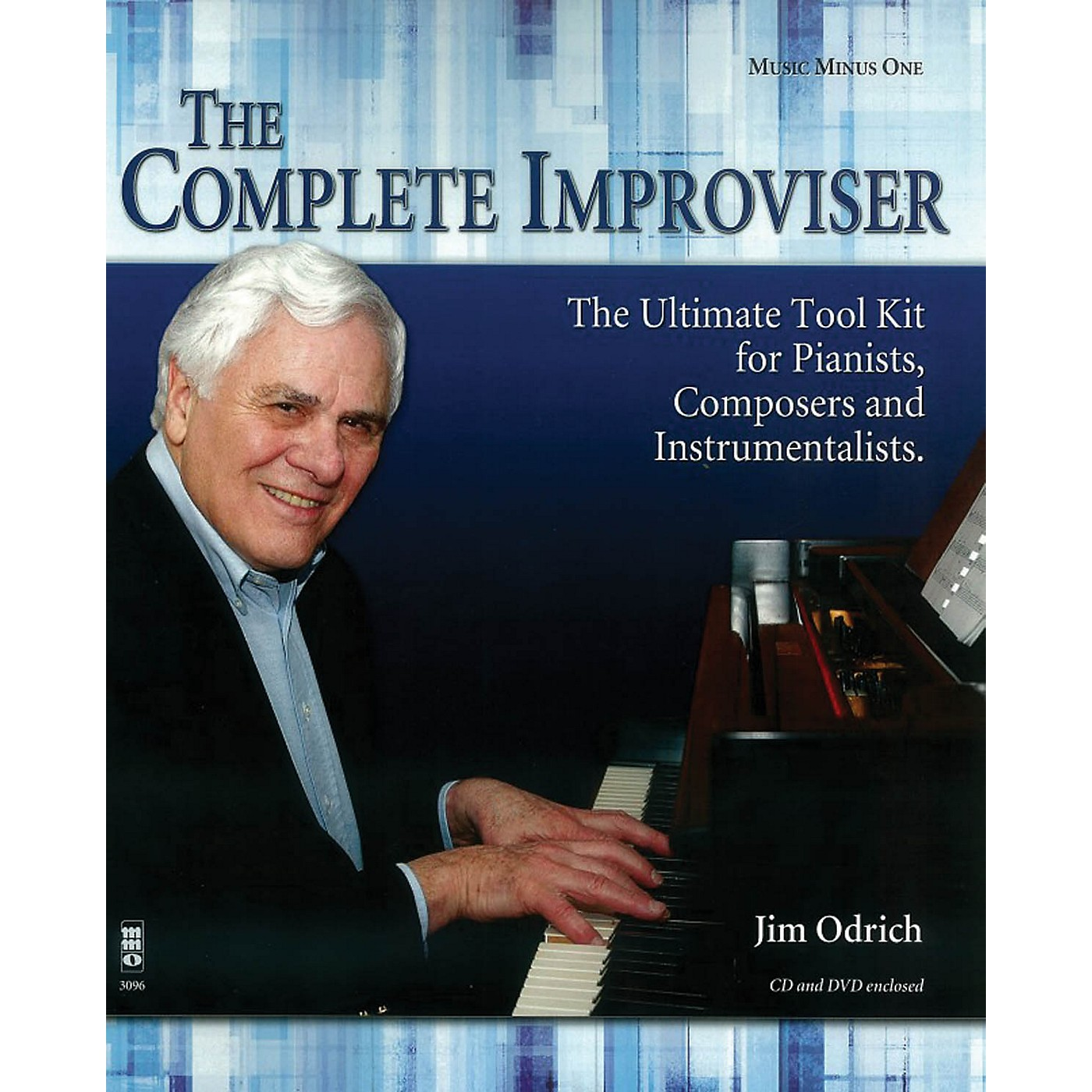 Music Minus One The Complete Improviser - The Ultimate Tool Kit for Pianists, Composers and Instrumentalists BK/CD thumbnail