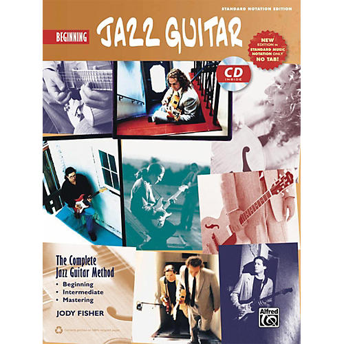 Alfred The Complete Jazz Guitar Method: Beginning Jazz Guitar Book & CD (Standard Notation Only) thumbnail
