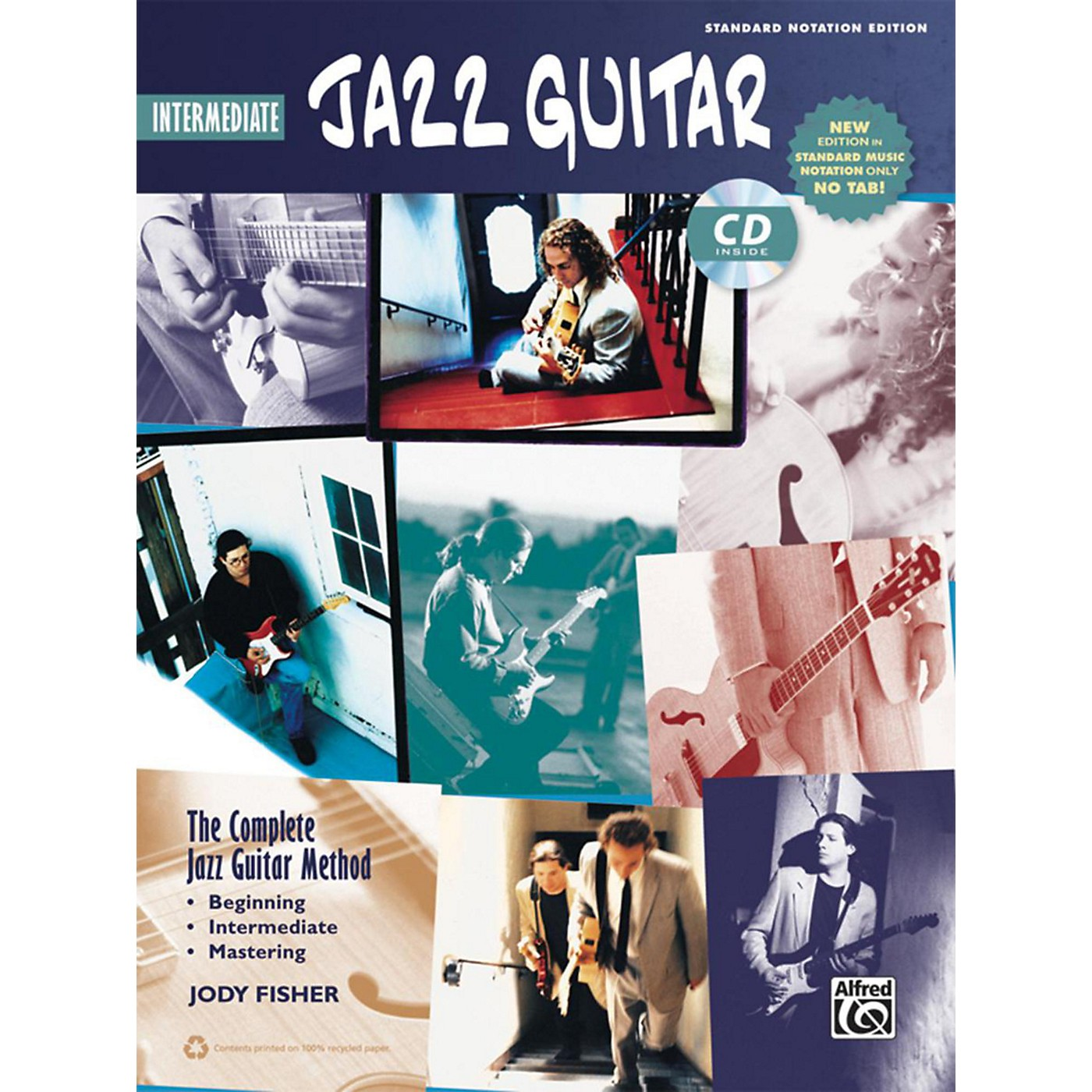 Alfred The Complete Jazz Guitar Method: Intermediate Jazz Guitar Book & CD (Standard Notation Only) thumbnail