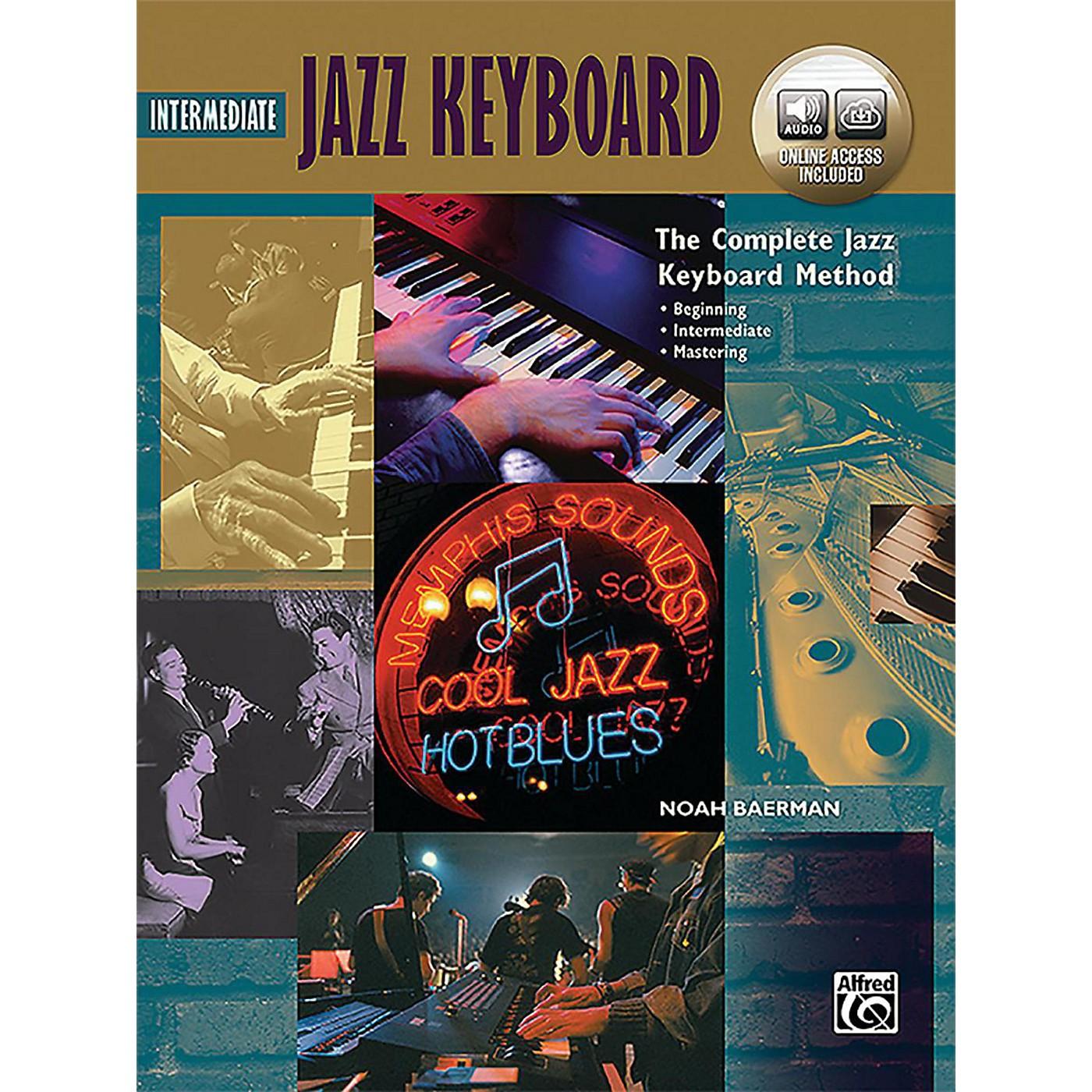 Alfred The Complete Jazz Keyboard Method - Intermediate Jazz Keyboard Book & Online Audio thumbnail