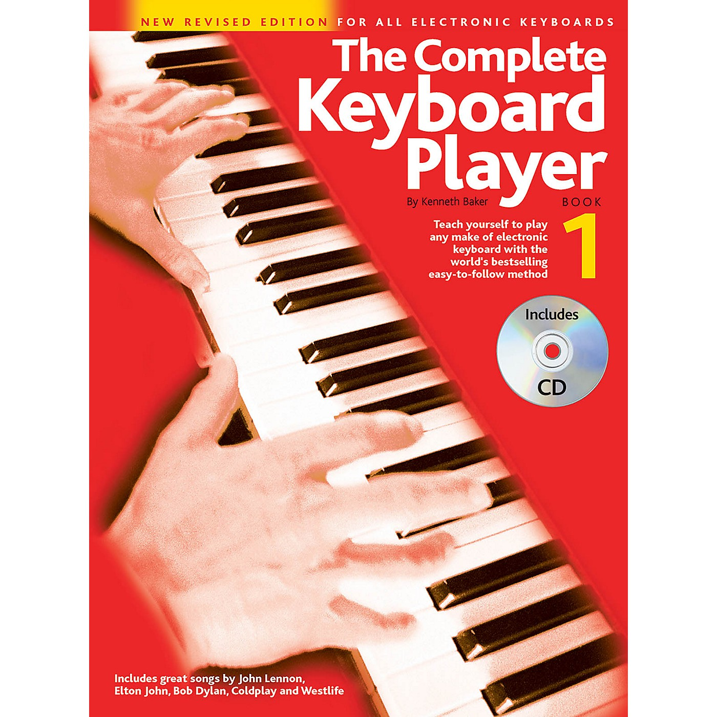 Music Sales The Complete Keyboard Player - Book 1 Music Sales America Series Softcover with CD by Kenneth Baker thumbnail